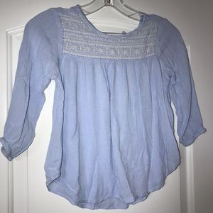 Girls peasant style top